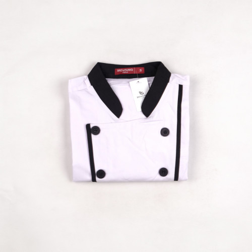Executive Long Sleeves White w/ Black Lines